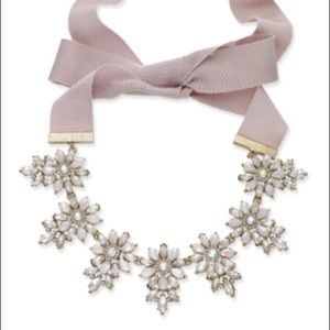 INC Gold-Tone Ribbon Tie Statement Necklace
